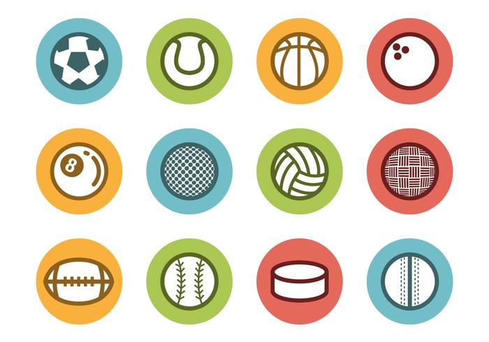 700x490 Free Sports Ball Icons Vector