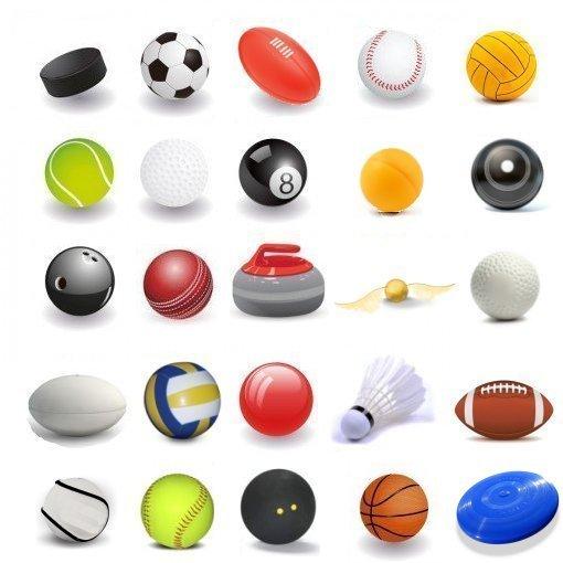 510x510 Identify The Sports Balls (Picture Click) Quiz