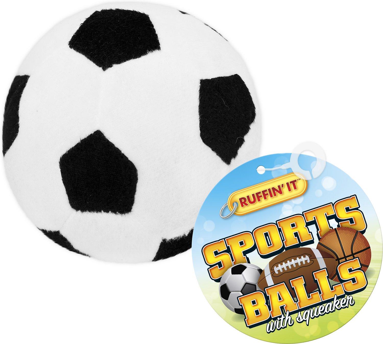 1500x1348 Ruffin' It Plush Sports Ball Dog Toy, Sports Ball Varies