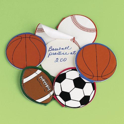 500x500 Sport Ball Notepads (2 Dz) By Fun Express Toys Amp Games