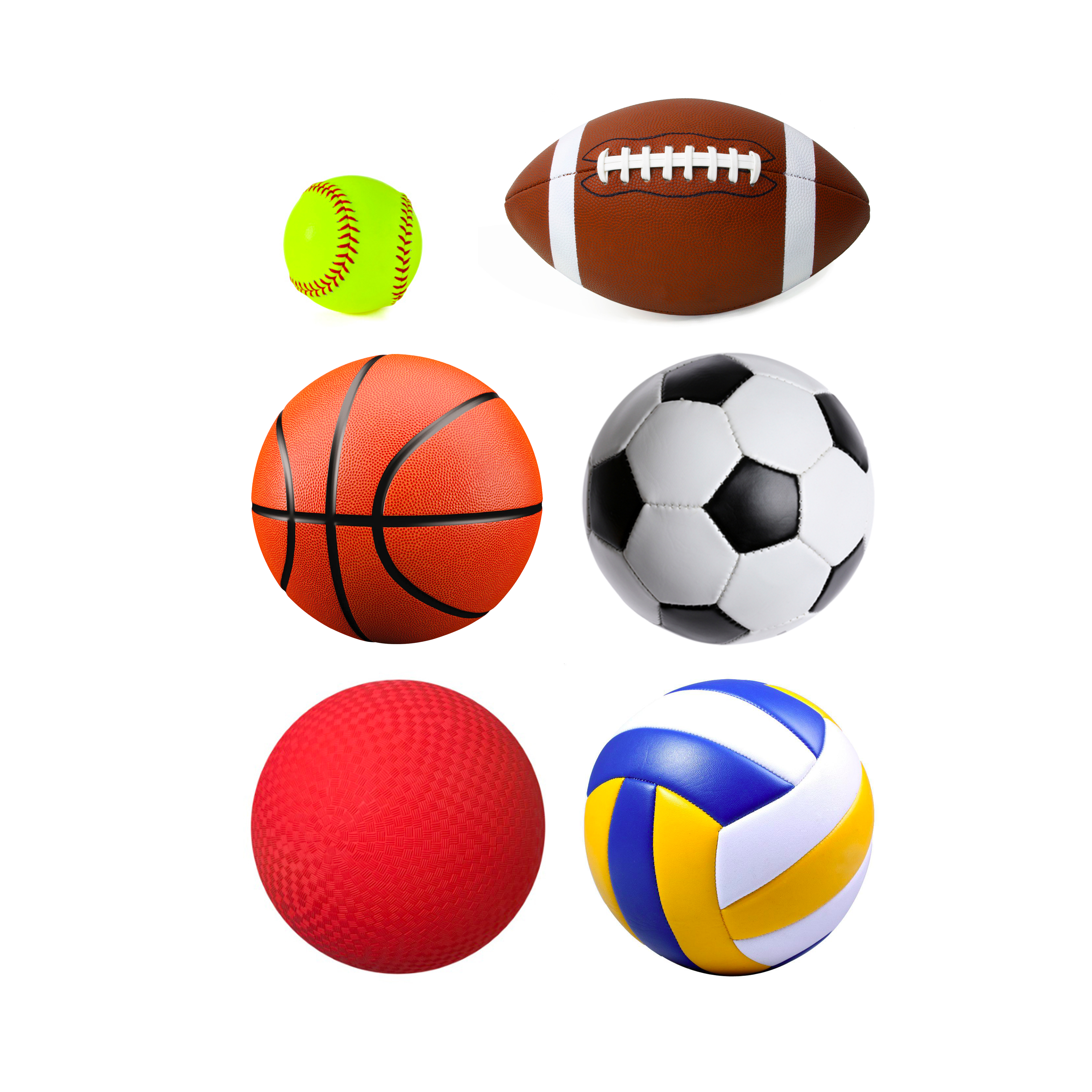 3729x3728 Assorted Sport Balls Byu Outdoors Unlimited