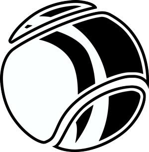 300x305 New Modern Sports Ball Clip Art From Great Dane Graphics