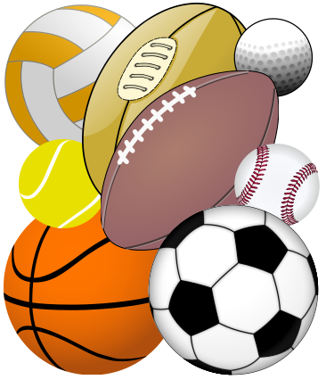 366x435 Sports Balls Clipart