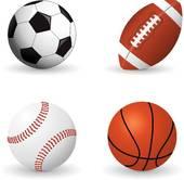 170x166 Clipart Of Sports Balls K6414504