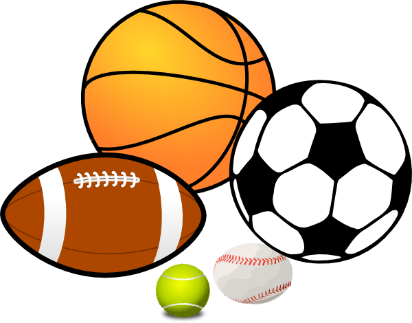 600x470 Sports Balls Clipart