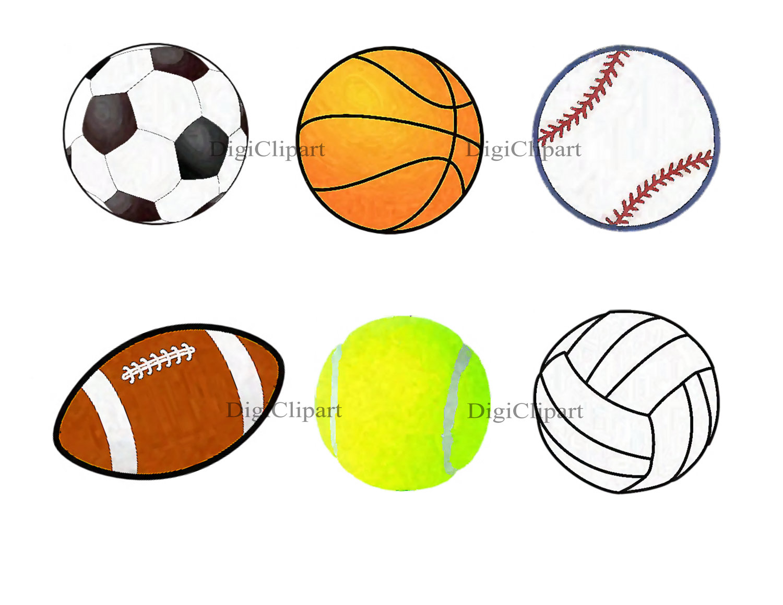1500x1159 Sports Balls Clipart