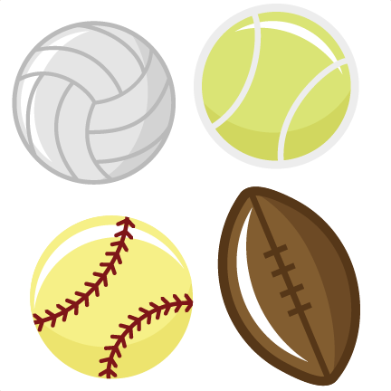 432x432 Sports Balls Svg Files Tennis Ball Svg File Football Svg File