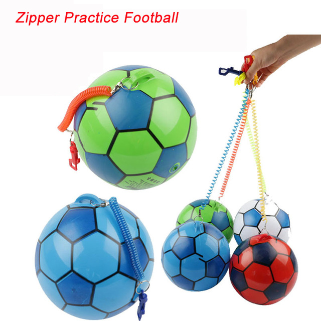 640x640 Ccinee 1pcs Zipper Practice Soccer Ball Football For Sale Sports