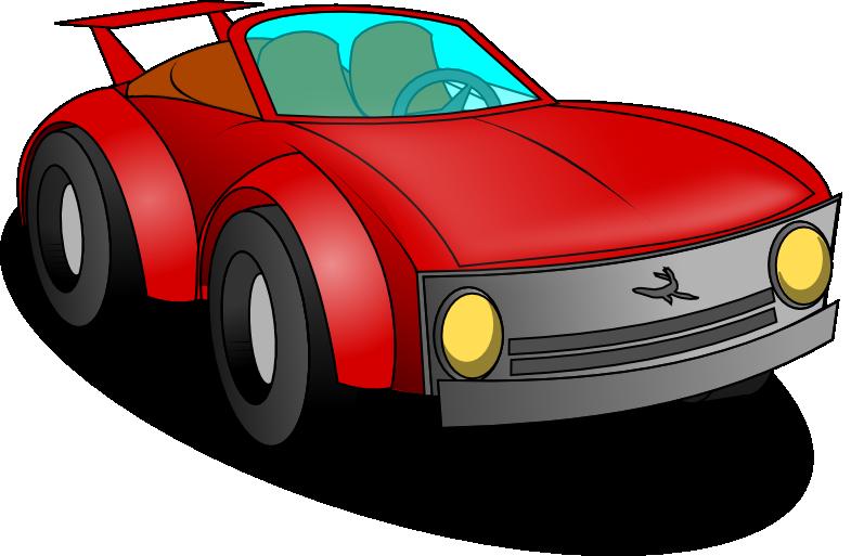 785x513 Free Red Sports Car Clip Art