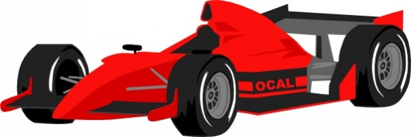 597x200 Image Of Sports Car Clipart