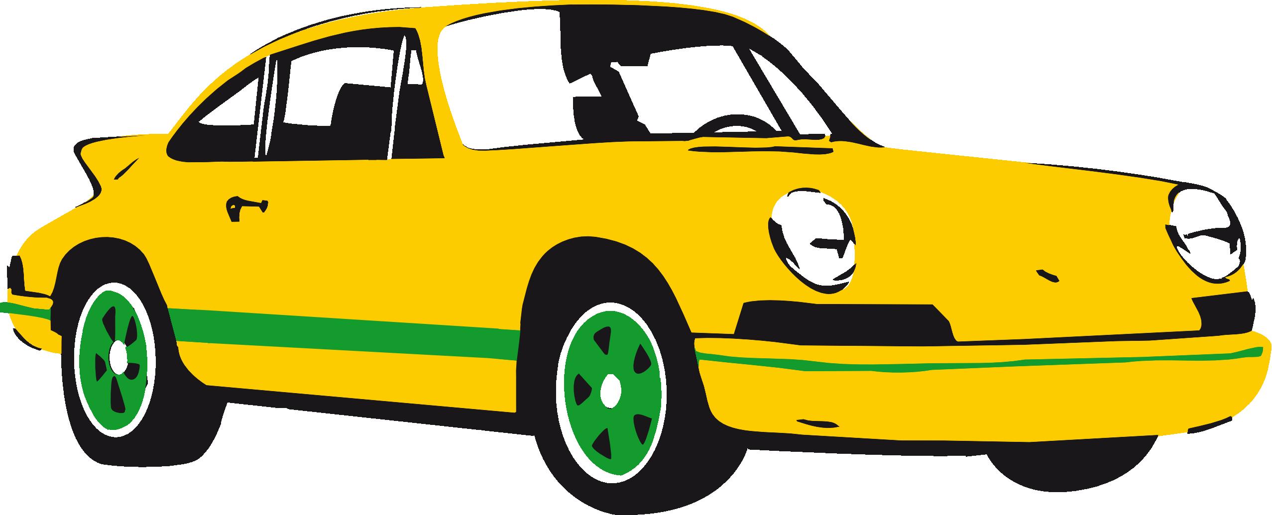 2555x1035 Porsche Sports Car Clip Art Free