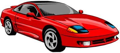 400x178 Red Sports Car Car Clipart