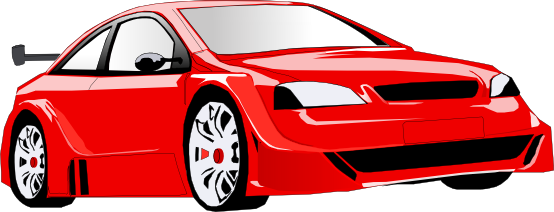 554x212 Red Sports Car Clipart Clipartfest