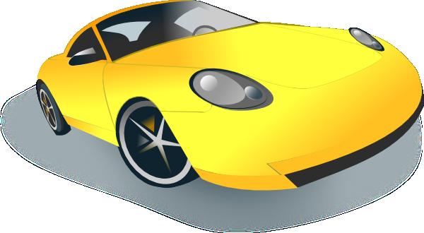 600x330 Sports Car Clip Art