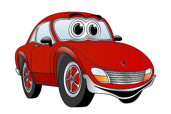 550x367 Cartoon Sports Car Free Download Clip Art