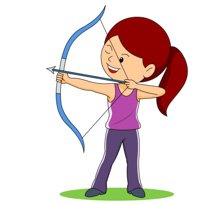 210x204 Free Sports Archery Clipart Clip Art Pictures Graphics 3