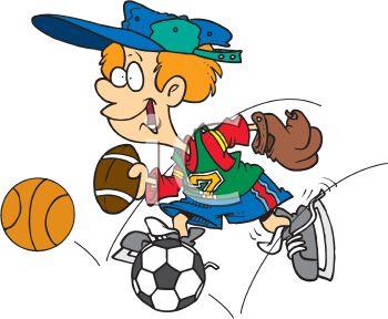 350x288 Sports Cartoon Clip Art Cliparts