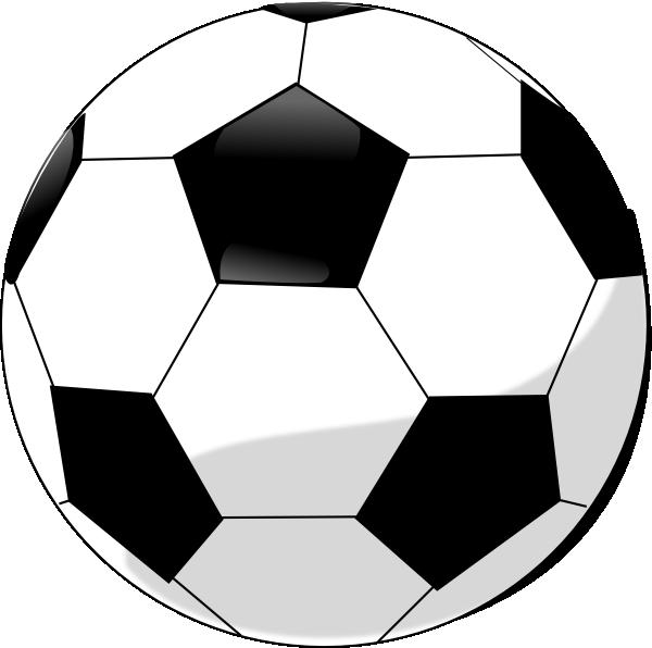 600x596 Nice Soccer Ball Clip Art
