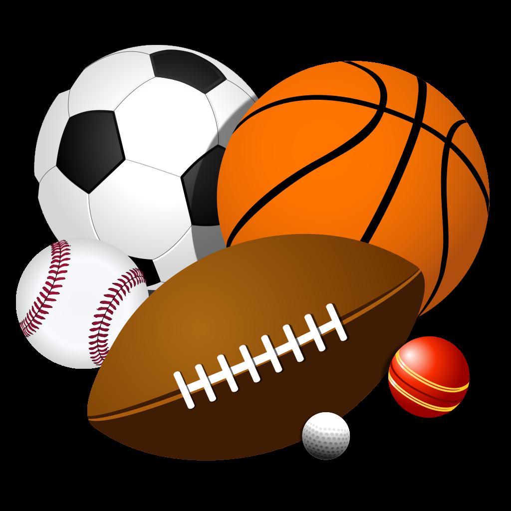 1024x1024 Sports Balls Clip Art