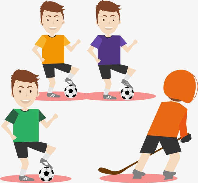 650x602 Kids Sports, People Illustration, Cartoon Characters, Illustration
