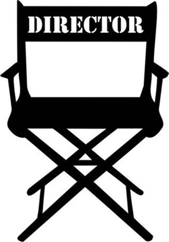 659x939 Director Chair Clipart