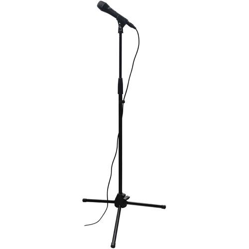 500x500 Microphone Stand Spotlight Clipart Panda