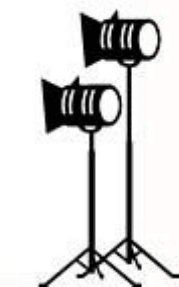 356x572 Movie Star Spotlight Clipart Cliparthut