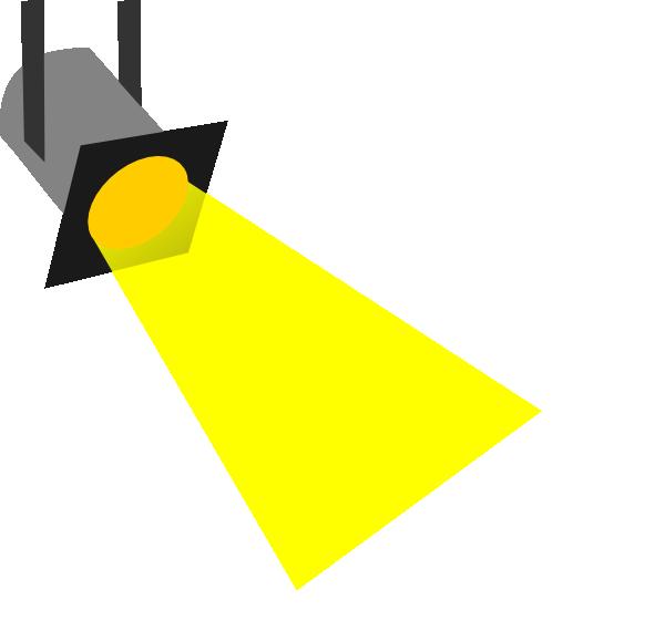 600x579 Small Spotlight Clip Art