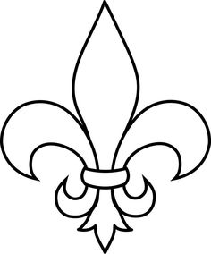 236x284 Frrench Free Clip Art Black Fleur De Lis Silhouette For Flyer