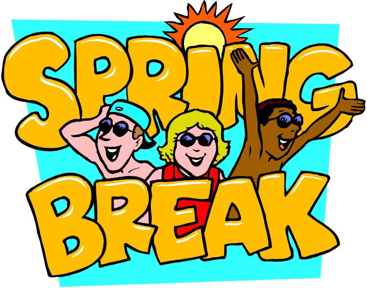 750x589 Spring Break Clip Art