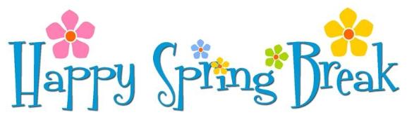 577x167 Spring Break Clip Art Gallery Image