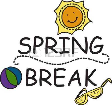 450x425 Spring Break Graphics Clip Art Clipart