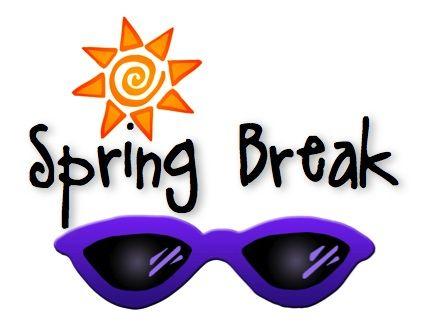 428x326 Calendar Clipart Spring Break