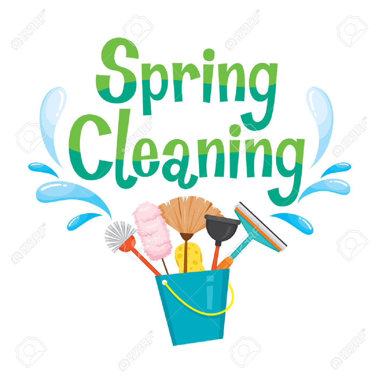 1300x1300 Free Spring Cleaning Clipart