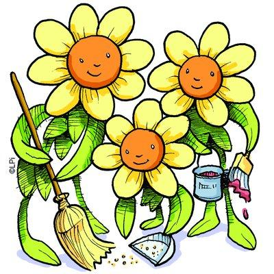 400x400 Spring Cleaning Clip Art Clipart