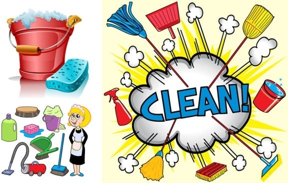 576x366 Spring Cleaning Free Vector Download (3,124 Free Vector)