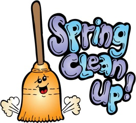 266x240 Spring Clipart Spring Cleaning