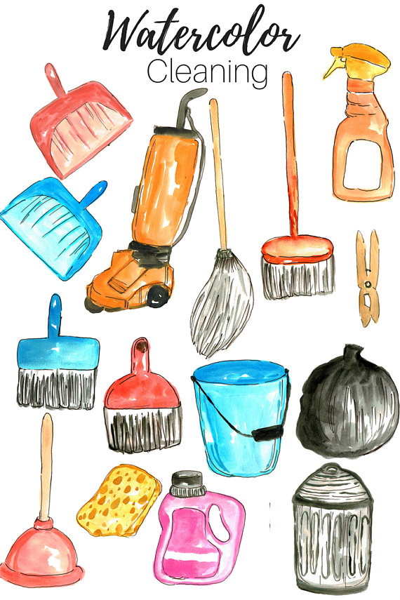 570x855 Cleaning Clip Art