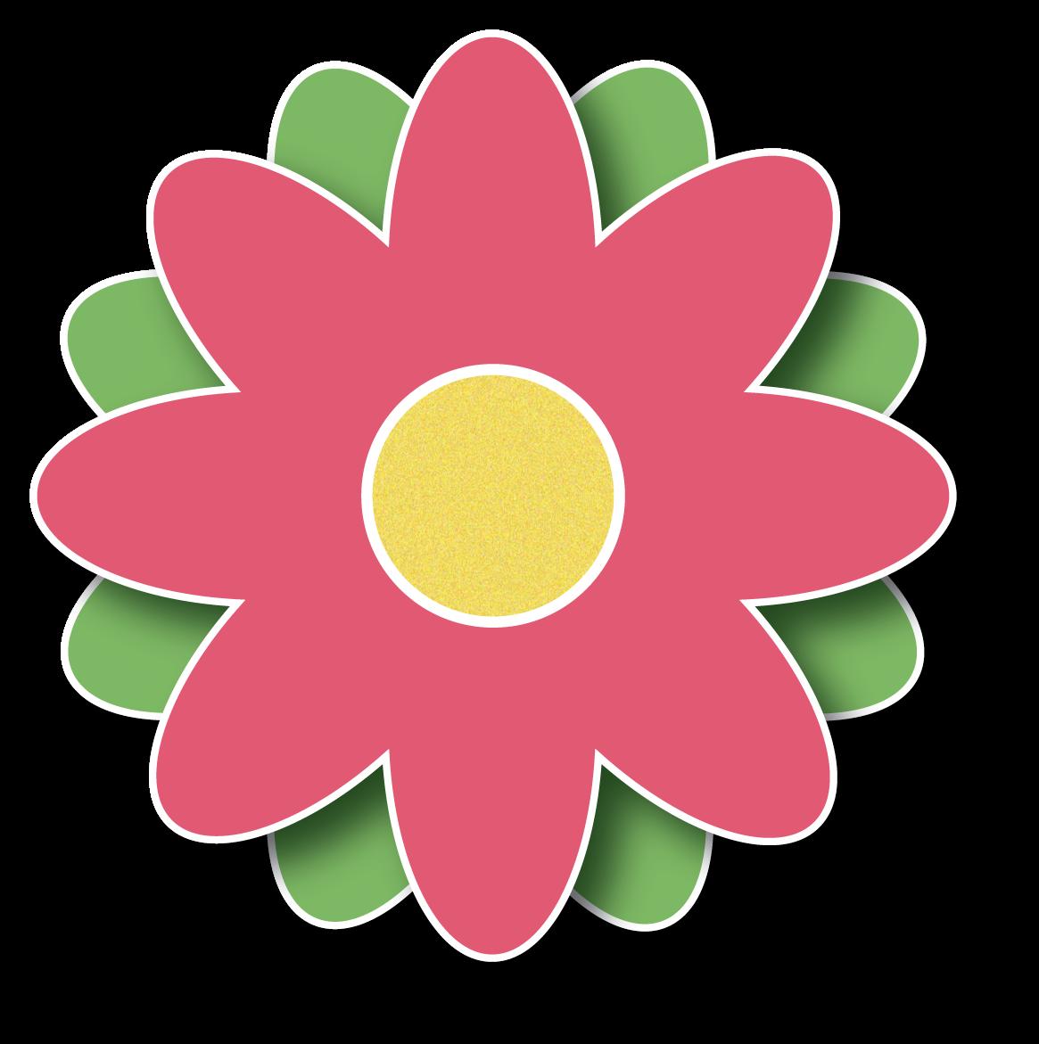 1165x1171 Pink Flower Border Clip Art Clipart Panda