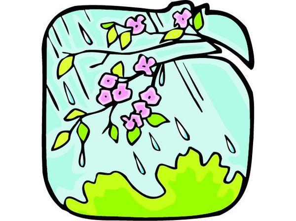 600x449 Rain clipart spring time