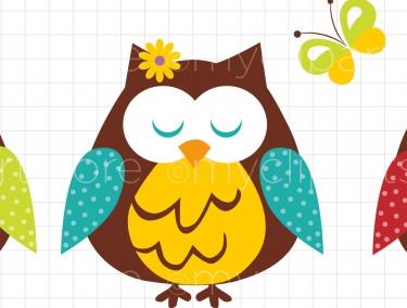 375x284 Spring Owl Clip Art – Cliparts