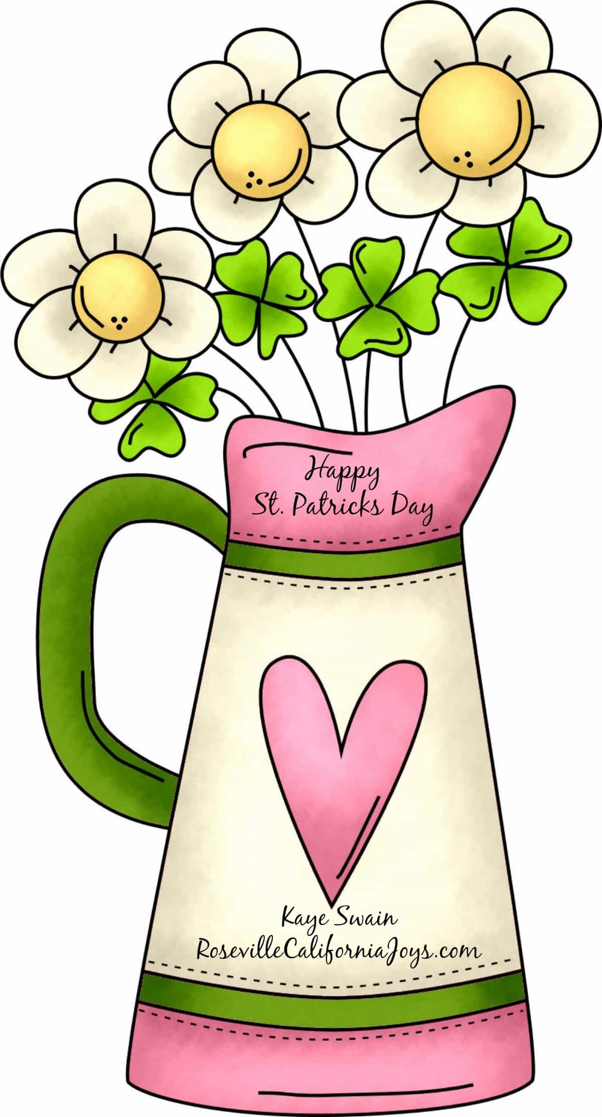 1200x2226 Spring St Patricks Clipart, Explore Pictures
