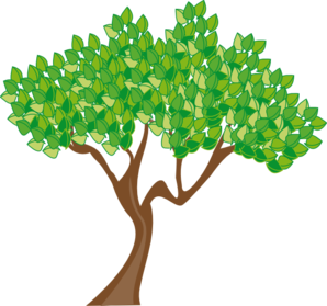 298x279 Summer Or Spring Tree Clip Art