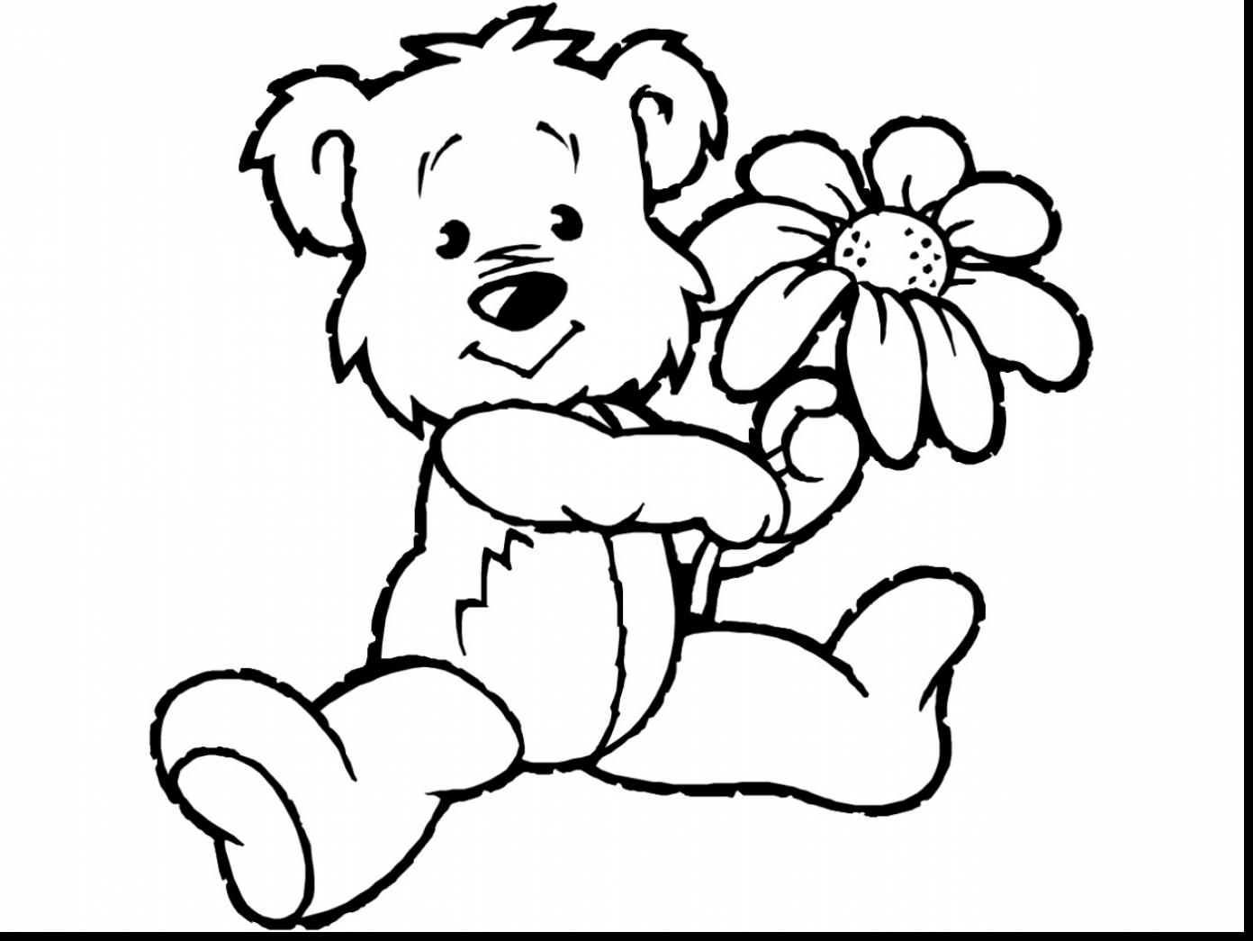 1392x1045 Terrific Coloring Pages Spring Flowers Clip Art With Spring