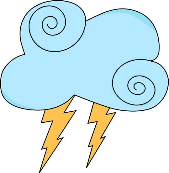 539x550 Storm Clipart Spring Weather