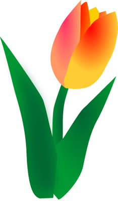234x400 Top 98 Spring Flowers Clip Art