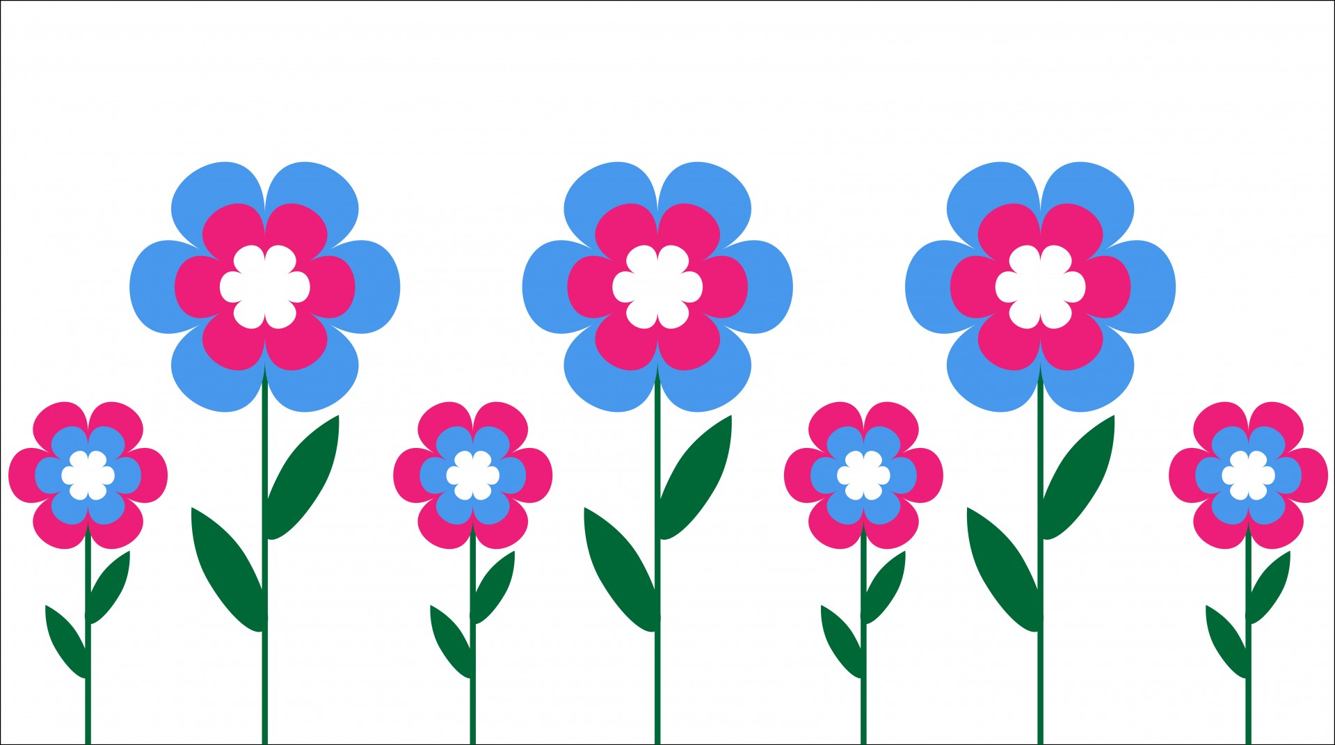Spring flower border clipart free download best spring flower 1919x1071 spring flower border clipart spring flowers and mightylinksfo