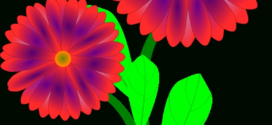 272x125 Spring Flowers Border Clip Art Free Vector Download (212,813 Free
