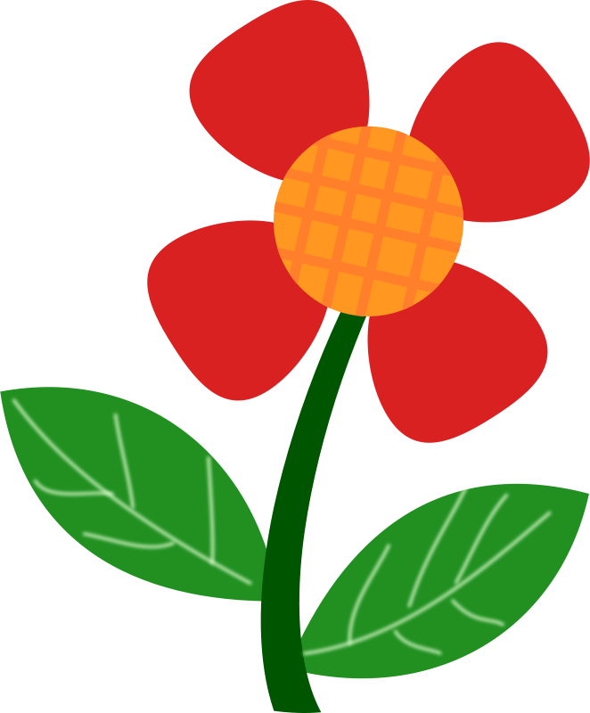 662x800 Clipart Spring Flowers