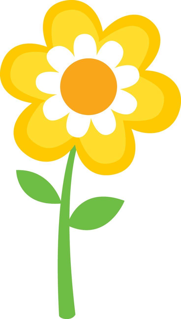 Spring Clip Art: Spring Flowers Borders Clipart